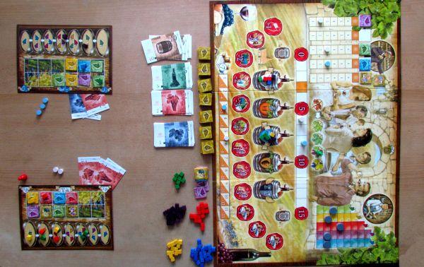Grand Cru - rozehraná hra