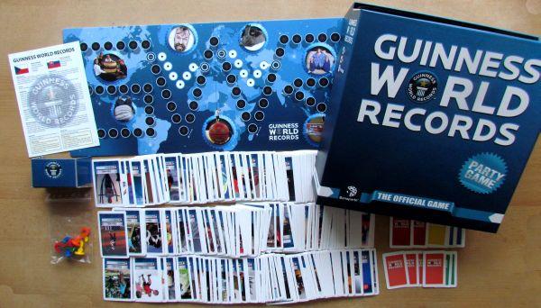 Guinessova kniha rekordů - balení