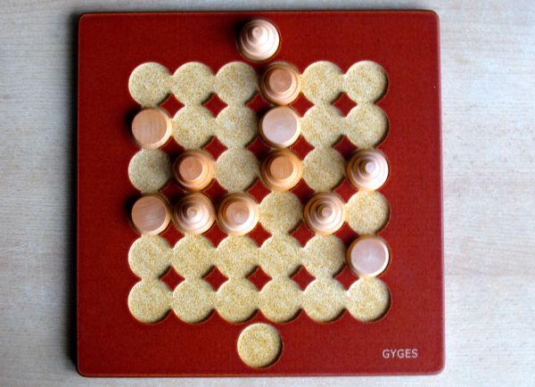 Gyges - game in progress