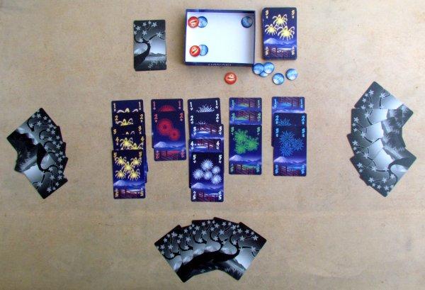 Hanabi - rozehraná hra