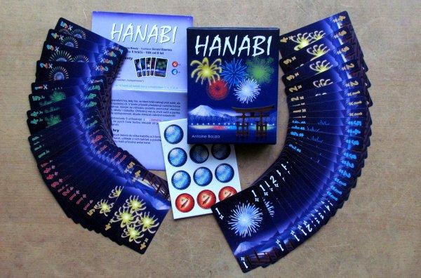 Hanabi - balení