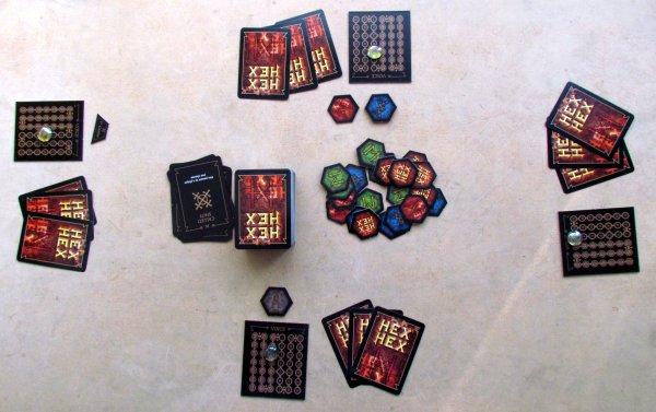 Hex Hex XL - game in progress