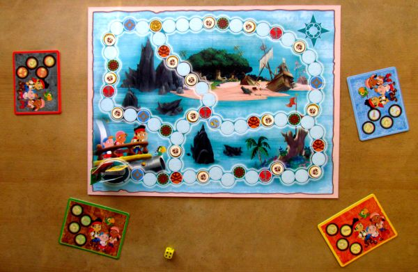 Jake and the Neverland Pirates: Hey Hey OK! - připravená hra