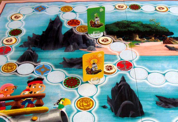 Jake and the Neverland Pirates: Hey Hey OK! - rozehraná hra