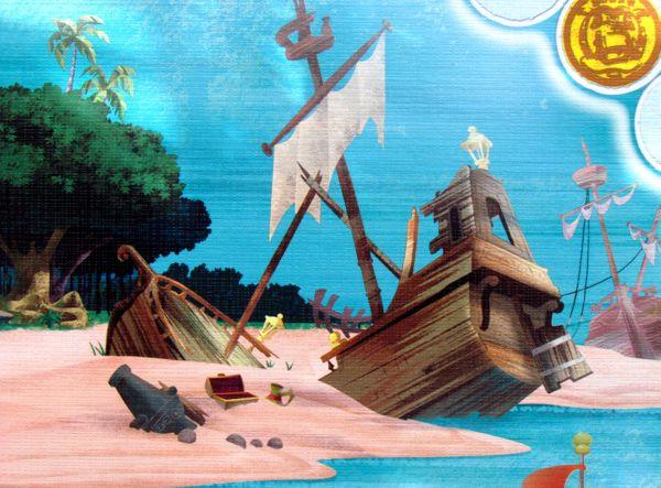 Jake and the Neverland Pirates: Hey Hey OK! - detail herního plánu