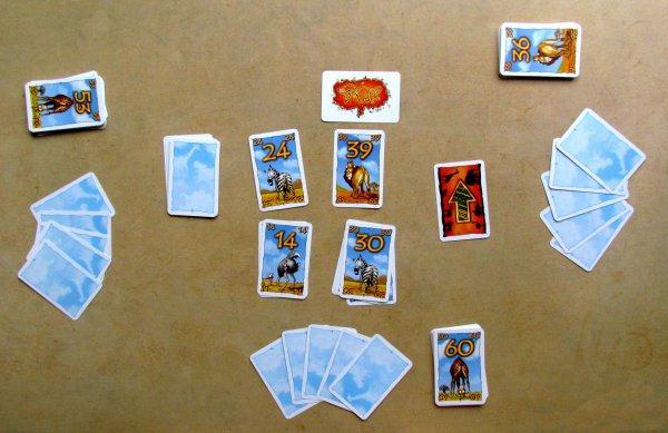 Himmel, A... und Zwirn - rozehraná hra