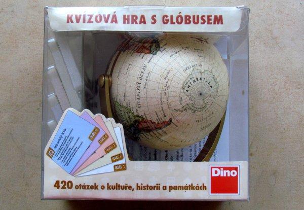 Historický kvíz s globusem - balení