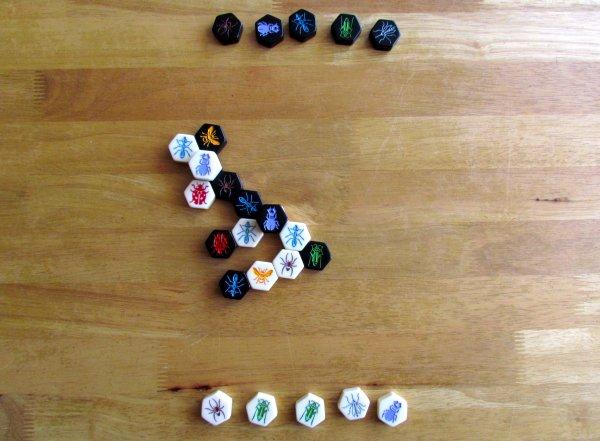 Hive Pocket - rozehraná hra