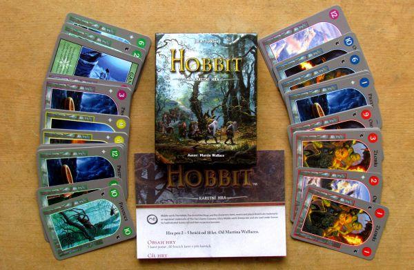 Hobbit: Karetní hra - balení