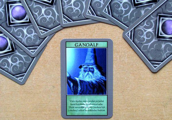 Hobbit: Karetní hra - připravená hra