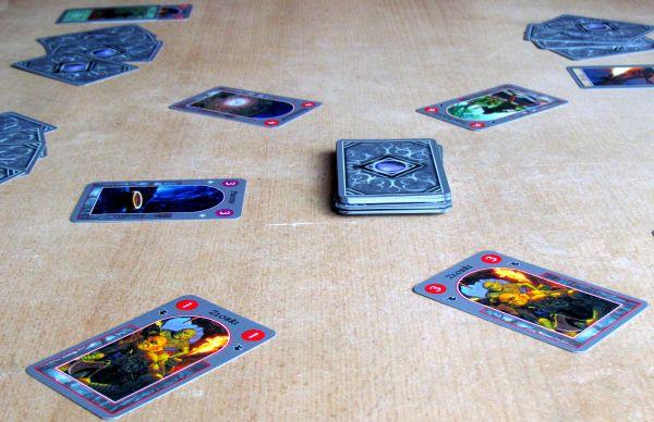 Hobbit: Karetní hra - rozehraná hra