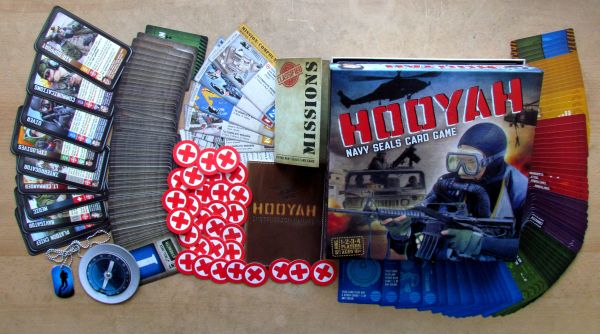 Hooyah: Navy Seals Card Game - balení