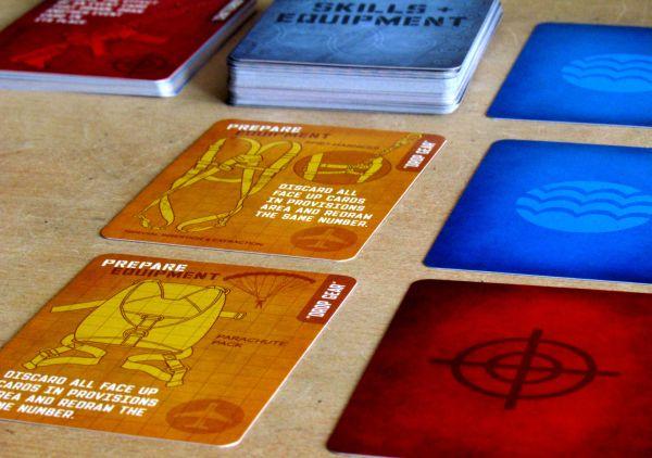 Hooyah: Navy Seals Card Game - rozehraná hra