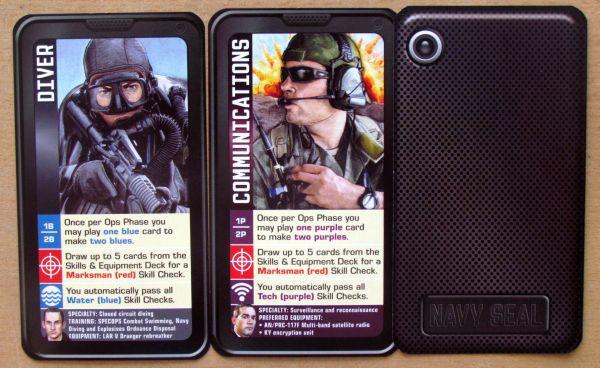 Hooyah: Navy Seals Card Game - karty