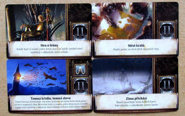 Hra o Trůny - karty