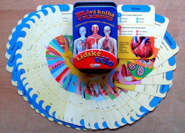 Hravé knihy v plechovce - Lidské tělo - balení