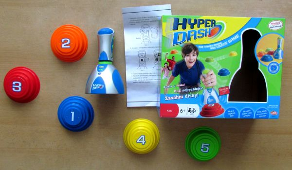 Hyperdash - balení