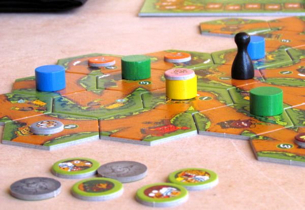 Im Wald da sind die Räuber - rozehraná hra