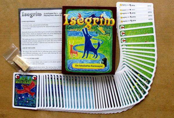 Isegrim - packaging