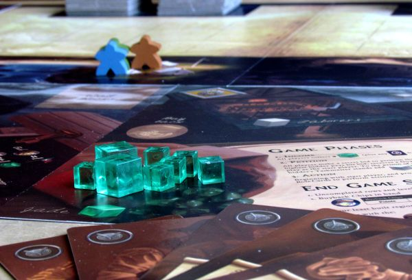 Board game review: Island Fortress - game is ready