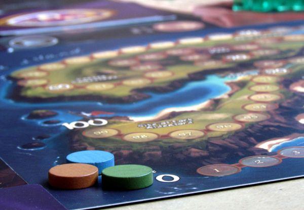 Island Fortress - připravená hra