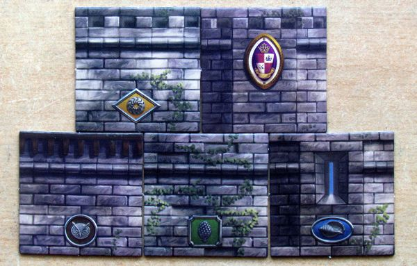 Island Fortress - tokens