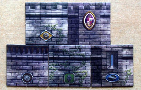 Island Fortress - žetony
