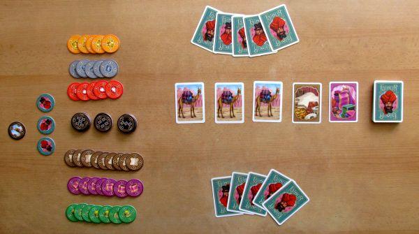 Jaipur - připravená hra
