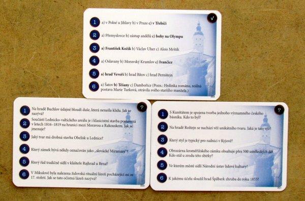 Jižní Morava - karty