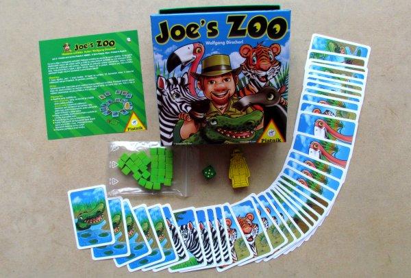 Joe´s Zoo - balení