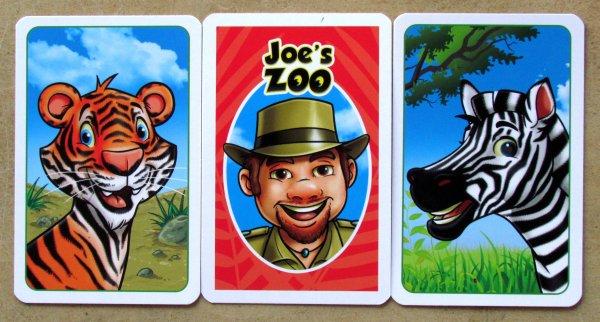 Joe´s Zoo - karty