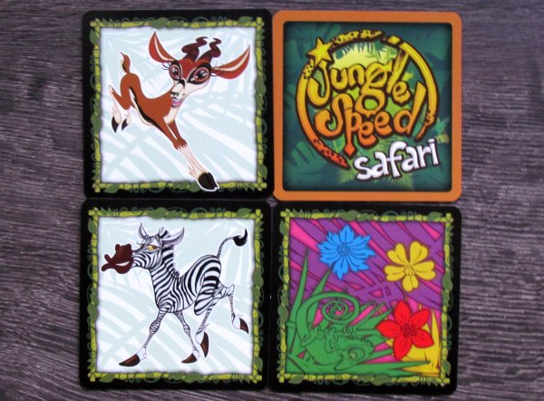 Jungle Speed: Safari - karty
