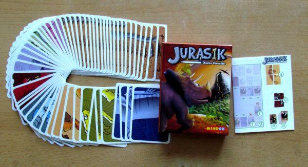 Jurasik - balení