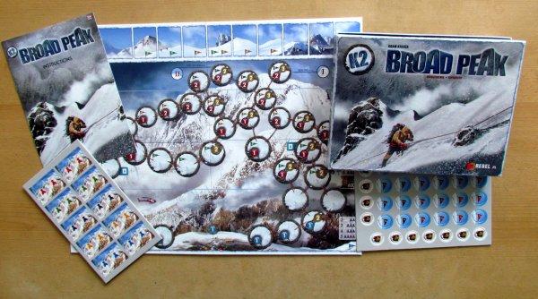K2: Broad Peak - packaging