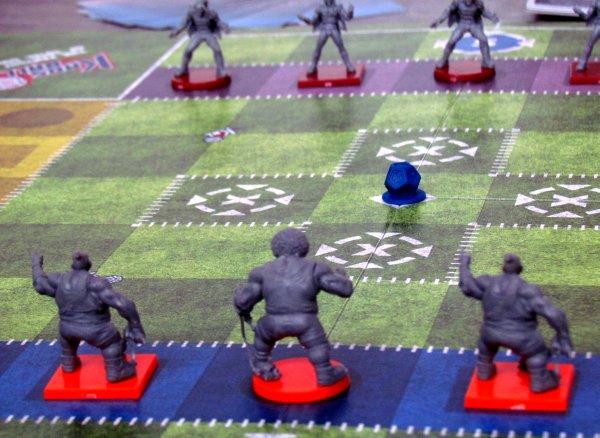 Kaosball - připravená hra