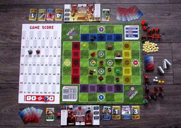 Kaosball - rozehraná hra