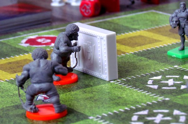 Kaosball - game in progress
