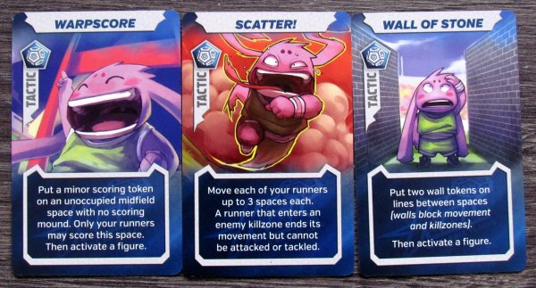 Kaosball - cards