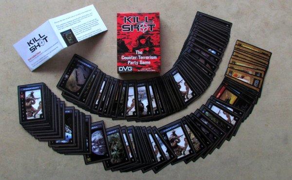 Kill Shot - packaging