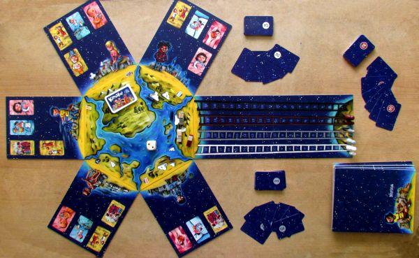 Kimaloé - připravená hra