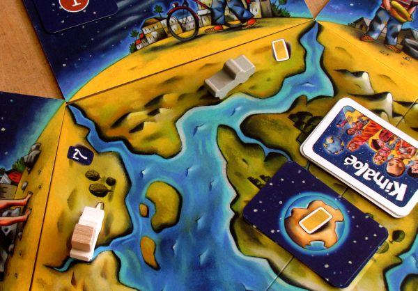Kimaloé - rozehraná hra