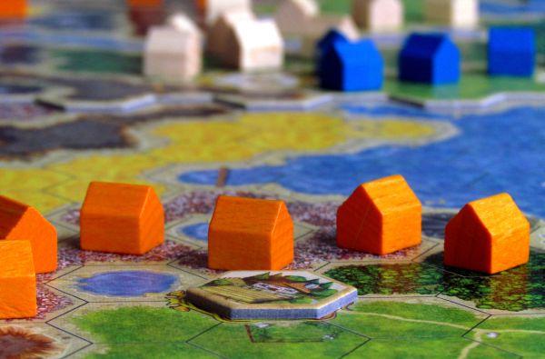 Kingdom Builder - rozehraná hra