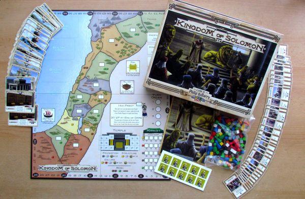 Kingdom of Solomon - připravená hra