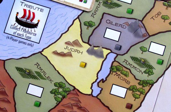 Kingdom of Solomon - detail herního plánu