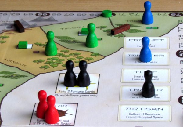 Kingdom of Solomon - rozehraná hra
