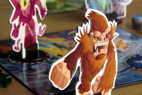 King of Tokyo - game in progress