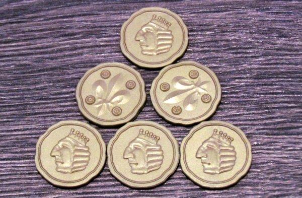 King´s Gold - žetony peněz