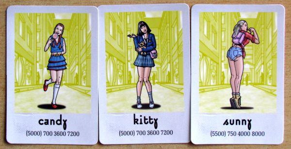 Kmotrov - karty