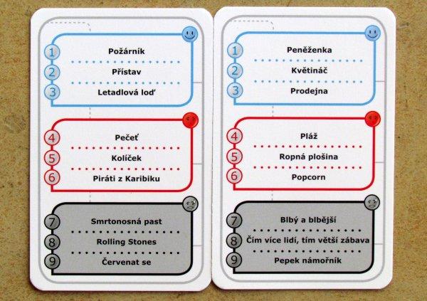Koncept - karty