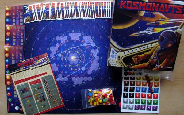 Kosmonauts - packaging